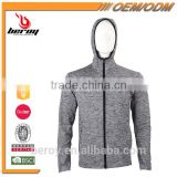 Comfort and Soft Zipper Up Mens Gym Jacket Hoodie