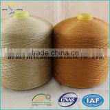 China manufacturer TFO 20s/2 20s/3 20s/4 dyed colors 100% polyester spun yarn or UAE market