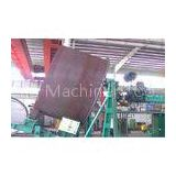 Tilt type self - locking Wind Tower Production Line for tank vessel / Flange Welding