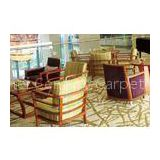 Hospitality Floral Pattern Hand Tufted Carpet For Hotel Made With Fine Wool