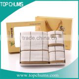 Fine High Quality Plush Luxurious bamboo towel sets softtextile,kitchen towels set,towels bath set luxury hotel