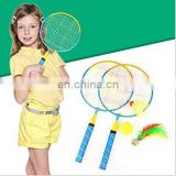 Outdoor Sports Equipment 1Pair Kids Children Badminton Racket With Shuttlecock