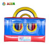 Newest factory price nice inflatable obstacle course for adult and kids
