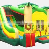 New design jungle theme bouncy castle combos NC025
