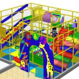 HLB-I17044 Kids Fitness Playground Children Indoor Play Equipment