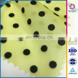 Fashion Tricot 3d flocked tulle Fabrics For Tutu