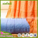 Wholesale 100% cotton cheap towel blankets 150*200cm 850g