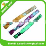 Cute pink event wristband woven wristband