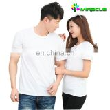Cheap cost unisex wholesale bulk blank shirts for sublimation