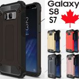 Samsung Galaxy S8 & S8 Plus Dual Layer Shockproof Armour Tough Case Cover
