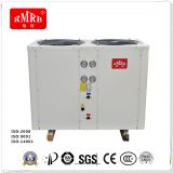 energy efficiency heat pump system condensor with Titanium(PVC shell) water heater