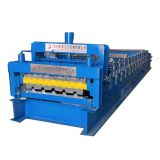 Double layer roof Trapezoid Profile Roll Forming Making Machine for Sale