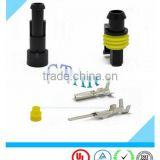 Original Auto Components 1 Pin Female& Male Electrical Wire Connector with terminals and seals