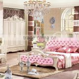 pink bedroom furniture for girls pink bedding sets wood bed in french style