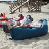 Popular Cheap Polyester Laybag Inflatable Air Sofa Bed Lounge Chair