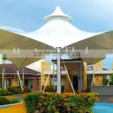 Used snow load steel structure aluminum carport shades for temporary building