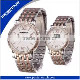 New Coming Design Rose Gold Mesh Band Couple Slim Custom Luxury Men Watch
