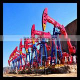 API standard B and C series oil well beam pumping units with high quality of chinese manufacturer