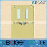 BG-F9035 Tempered Glass Fireplace Interior Door with Fireproof Door Seal