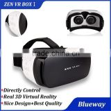 2016 ZEN VR Box I 3D Virtual Reality, Sex Video VR Box, Photography Head Mount Gear VR For 4.5 - 5.5 inch Smartphone