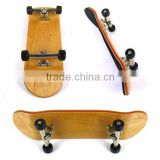 Professional Maple Complete Wooden Fingerboard with Nuts Trucks Tool Kit - Basic Bearing Wheels