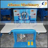 220-260 pcs/min Automatic motif design @ rhinestones setting machine for clothes,shoes,bags, leather belts