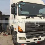 Nice good condition hino tractor head 700 2013 year in shanghai HINO 700 tractor head