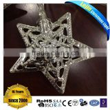 New year Christmas and holidays lights saving energy metal star string lights