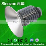 Sinozoc Good quality 4 years warranty IP65 high lumen aluminum fins heat sink CE Rohs FCC listed led high bay light
