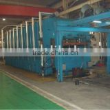 conveyor belt vulcanizing press / rubber vulcanizing press / rubber sheets cooling machine