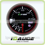 Remote control series, 60mm Electrical Turbo Boost Gauge