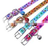 Large quantity of good price cute patterned cats pet supplies wholesale dog collar