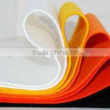 white or colorful 100% polyester nonwoven felt seal strip