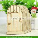 2015 laser cut wooden fairy faerie elf doors unpainted with plaque Christmas decorations