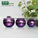 2015 Popular Unique Ball Cosmetic Plastic Jar for Skin Care Cream Jar