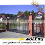 metal gate designs of Wrought iron/wrought iron gates /wrought iron double entry doors /metal iron gate for supplier