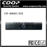 H.264 1080P HDMI Output Support 4HDD Port 4CH SDI Solution DVR