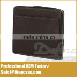 China Direct Supplier Zipper Leather Portfolio Bag Best Selling                                                                         Quality Choice