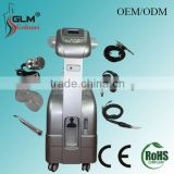 Vertical multifunction 6 in 1 vacuum photon BIO lymph drainage oxygen facial mask beauty equipment