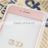 Anti-glare full cover 3d rose gold screen protector for iPhone 6/6 plus                                                                                                         Supplier's Choice