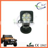 12W Squar LED WORK LIGHT LAMP OFFROAD; ATV BOAT JEEP Truck SUV 4WD