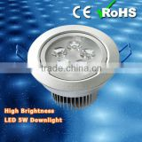 2014 Newest Led Down Lamp with SMD 3528, 5W Metal Halide Lamp Replacement, High Lumen High Power Led Downlight
