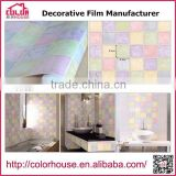 Waterproof 3d Wallpaper for Home Decoration, Pvc self adhesive decorative film for kitchen                                                                                                         Supplier's Choice