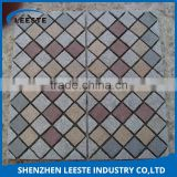 Fan shape / circle shape etc grey cobble stone tiles