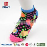 Fruit Jacquard Girl and Women Sport socks