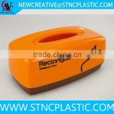 home and office custom printed plastic tissue box                                                                                                         Supplier's Choice