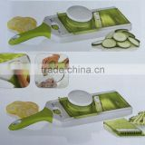 cheap Plastic 3 in 1 Mandoline adjust thickness Fruit and Vegetable Slicer with handle