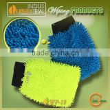 Super water absorbent car use microfiber glove with free sample online sale in Jiangsu market