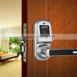 motorized lock with smart rfid card key