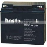 rechargeable battery cell 12v21ah high rate power supply battery